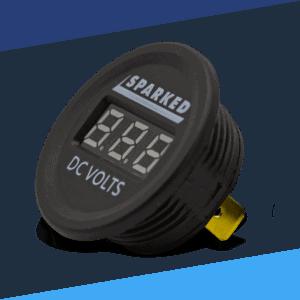 Single Display Voltmeters