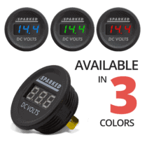 Single Voltmeter illuminated disassembled angle 3 COLORS 210x210 - Sparked Innovations | Clever Electronic Solutions
