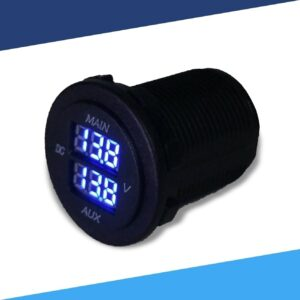 Voltmeters - Dual Display