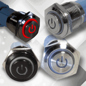 Metal Push Button Latching Switches