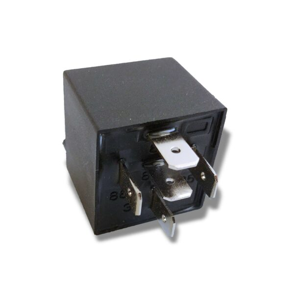 Automotive Relay Disassembled from Socket Underside Terminals 40A 14VDC 12V copy scaled 600x600 - Four Pack Bosch Relays