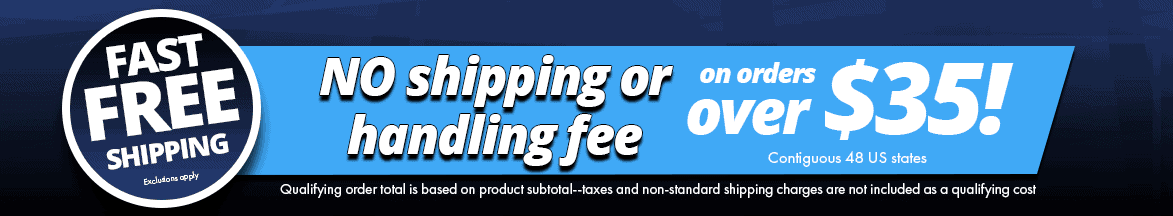 Fast Free Shipping No Shipping banner - Sparked Innovations | Clever Electronic Solutions
