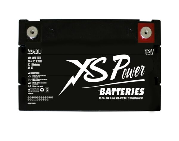 A3400 XS Power V Series 12VDC AGM Vintage Style Battery 1000A 65Ah Group 34 top 600x471 - A3400 XS Power V Series 12VDC AGM Vintage Style Battery 1000A 65Ah Group 34