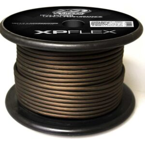 Black XS Power 8 AWG Gauge XP Flex Power and Ground Cable XPFLEX8BK 250 300x300 - XS Power 8 AWG Gauge XP Flex Car Audio Power and Ground Cable 250ft spool