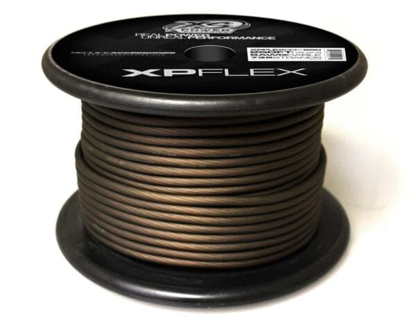 Black XS Power 8 AWG Gauge XP Flex Power and Ground Cable XPFLEX8BK 250 600x473 - XS Power 8 AWG Gauge XP Flex Car Audio Power and Ground Cable 250ft spool