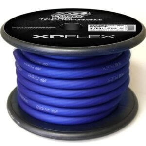 Blue XS Power 1 0 AWG Gauge XP Flex Power and Ground Cable XPFLEX0BL 50 300x300 - XS Power 1/0 AWG Gauge XP Flex Car Audio Power and Ground Cable 50ft spool