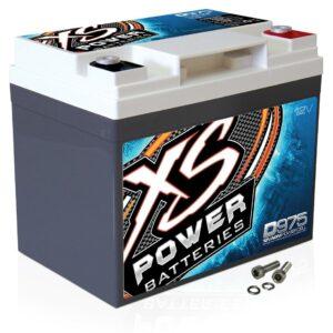D975 XS Power 12VDC AGM Car Audio Battery 2100A 35Ah turn 300x300 - D5100R XS Power 12VDC AGM Car Audio Battery 3100A 60Ah Group 51R
