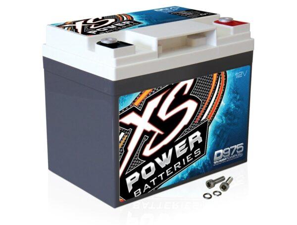 D975 XS Power 12VDC AGM Car Audio Battery 2100A 35Ah turn 600x454 - D975 XS Power 12VDC AGM Car Audio Battery 2100A 35Ah Group U1R
