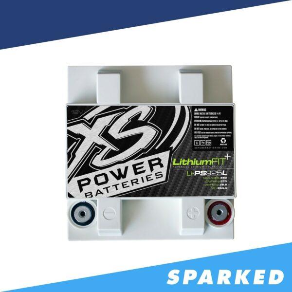 Li PS925L XS Power 12VDC Lithium Powersports Battery 360A 19.8Ah top 600x600 - Li-PS925L XS Power 12VDC Lithium Powersports Battery 360A 19.8Ah