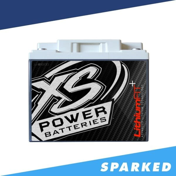 Li S1200 XS Power 12VDC Lithium Racing Battery 3840A 41.6Ah front 600x600 - Li-S1200 XS Power 12VDC Lithium Racing Battery 3840A 41.6Ah