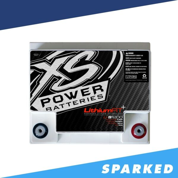 Li S1200 XS Power 12VDC Lithium Racing Battery 3840A 41.6Ah top 600x600 - Li-S1200 XS Power 12VDC Lithium Racing Battery 3840A 41.6Ah
