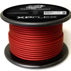 Red XS Power 8 AWG Gauge XP Flex Power and Ground Cable XPFLEX8RD 250 300x300 - XS Power 8 AWG Gauge XP Flex Car Audio Power and Ground Cable 250ft spool
