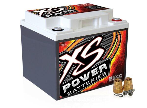 S1200 XS Power 12VDC AGM Racing Battery 2600A 44Ah turn 600x442 - S1200 XS Power 12VDC AGM Racing Battery 2600A 44Ah