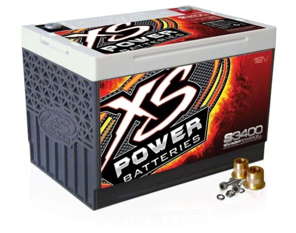 S3400 XS Power 12VDC AGM Racing Battery 3300A 65Ah turn 600x471 - S3400 XS Power 12VDC AGM Racing Battery 3300A 65Ah Group 34