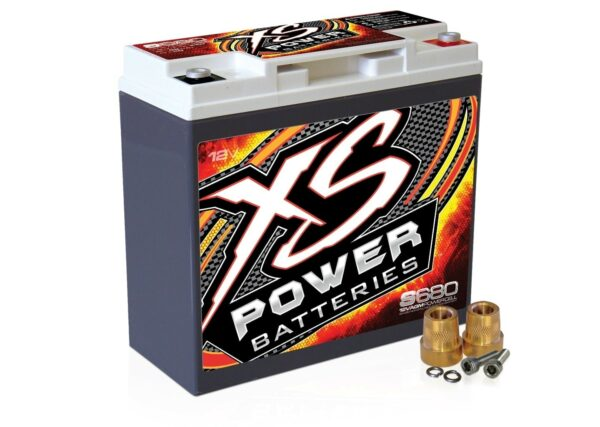 S680 XS Power 12VDC AGM Racing Battery 1000A 20Ah turn 600x427 - S680 XS Power 12VDC AGM Racing Battery 1000A 20Ah