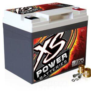 S975 XS Power 12VDC AGM Racing Battery 2100A 35Ah turn 300x300 - SB1000-27 XS Power 1000F SuperBank 12V Ultracapacitors Group 27