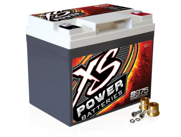 S975 XS Power 12VDC AGM Racing Battery 2100A 35Ah turn 600x454 - S975 XS Power 12VDC AGM Racing Battery 2100A 35Ah Group U1R