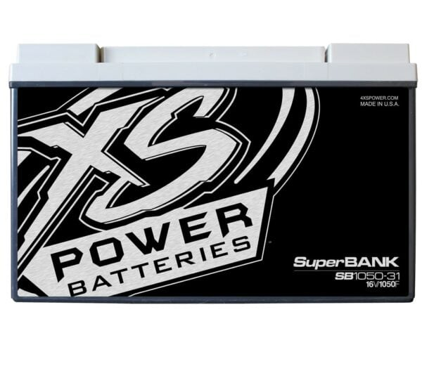 SB1050 31 XS Power 1050F SuperBank 16V Ultracapacitors Group 31 front 600x521 - SB1050-31 XS Power 1050F SuperBank 16V Ultracapacitors Group 31