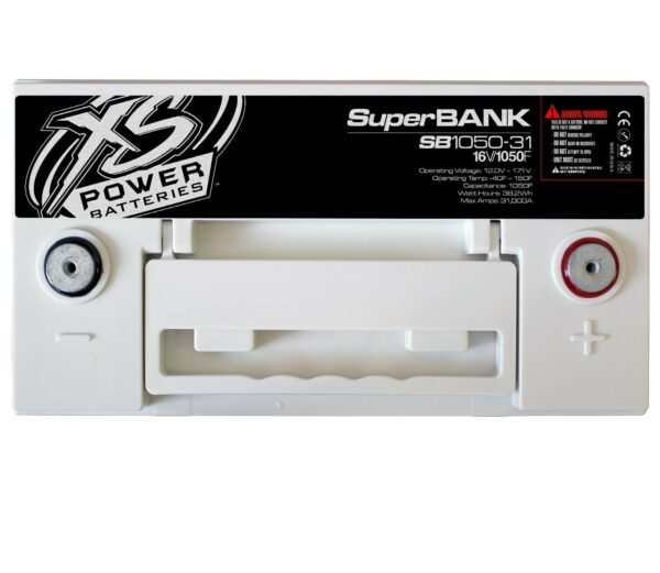 SB1050 31 XS Power 1050F SuperBank 16V Ultracapacitors Group 31 top 600x521 - SB1050-31 XS Power 1050F SuperBank 16V Ultracapacitors Group 31