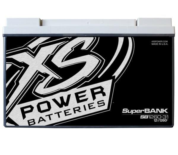 SB1260 31 XS Power 1260F SuperBank 12V Ultracapacitors Group 31 front 600x521 - SB1260-31 XS Power 1260F SuperBank 12V Ultracapacitors Group 31