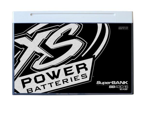 SB430 16 XS Power 430F SuperBank 16V Ultracapacitors Group 34 front 600x479 - SB430-16 XS Power 430F SuperBank 16V Ultracapacitors Group 34