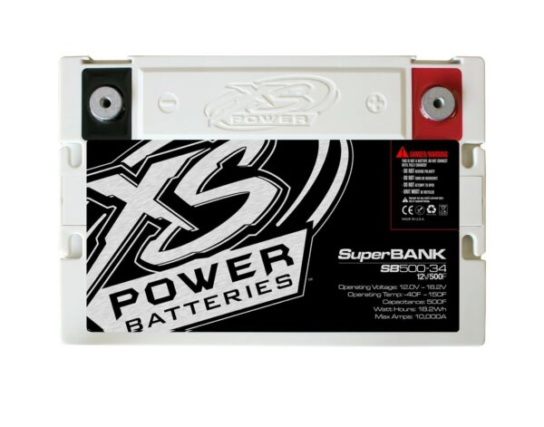 SB500 34 XS Power 500F SuperBank 12V Ultracapacitors Group 34 top 600x471 - SB500-34 XS Power 500F SuperBank 12V Ultracapacitors Group 34