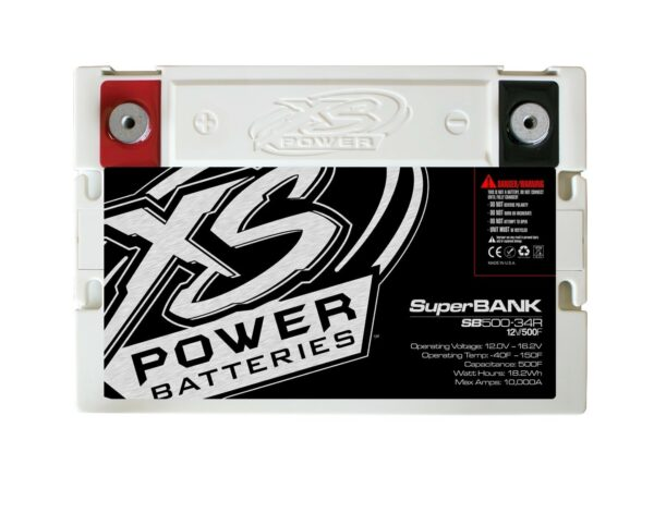 SB500 34R XS Power 500F SuperBank 12V Ultracapacitors Group 34R top 600x471 - SB500-34R XS Power 500F SuperBank 12V Ultracapacitors Group 34R