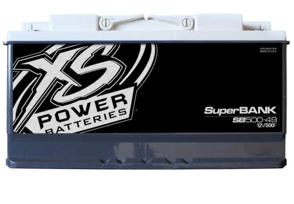 SB500 49 XS Power 500F SuperBank 12V Ultracapacitors Group 49 front 600x417 - SB500-49 XS Power 500F SuperBank 12V Ultracapacitors Group 49