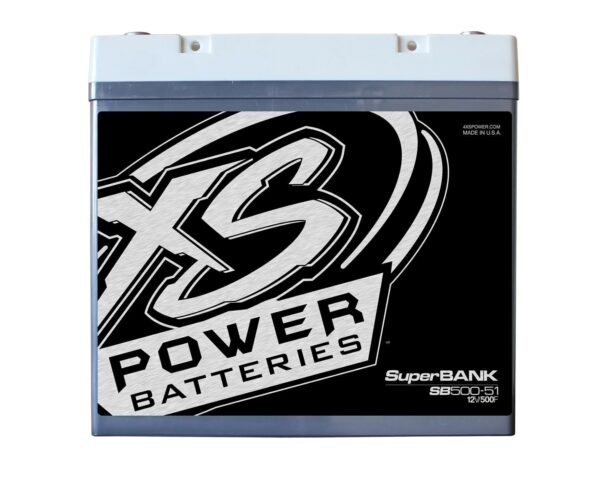 SB500 51 XS Power 500F SuperBank 12V Ultracapacitors Group 51 front 600x492 - SB500-51 XS Power 500F SuperBank 12V Ultracapacitors Group 51