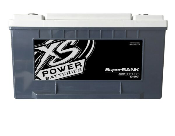 SB500 65 XS Power 500F SuperBank 12V Ultracapacitors Group 65 front 600x467 - SB500-65 XS Power 500F SuperBank 12V Ultracapacitors Group 65