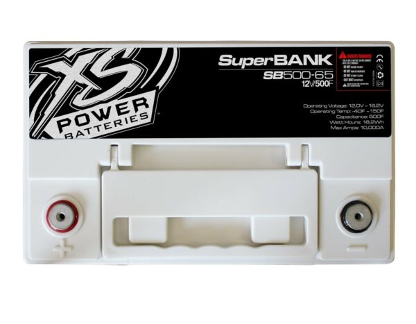 SB500 65 XS Power 500F SuperBank 12V Ultracapacitors Group 65 top 600x467 - SB500-65 XS Power 500F SuperBank 12V Ultracapacitors Group 65