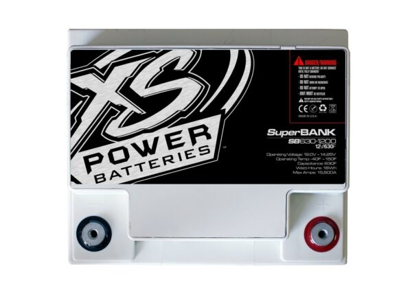 SB630 1200 XS Power 630F SuperBank 12V Ultracapacitors top 600x442 - SB630-1200 XS Power 630F SuperBank 12V Ultracapacitors