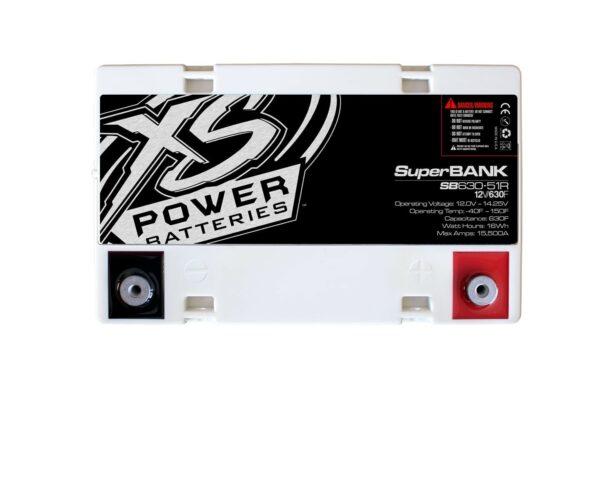 SB630 51R XS Power 630F SuperBank 12V Ultracapacitors Group 51R top 600x492 - SB630-51R XS Power 630F SuperBank 12V Ultracapacitors Group 51R