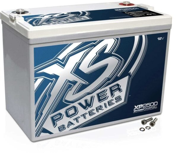 XP2500 XS Power 12VDC AGM Car Audio Battery 2500A 100Ah turn 600x515 - XP2500 XS Power 12VDC AGM Car Audio Battery 2500A 100Ah Group 27