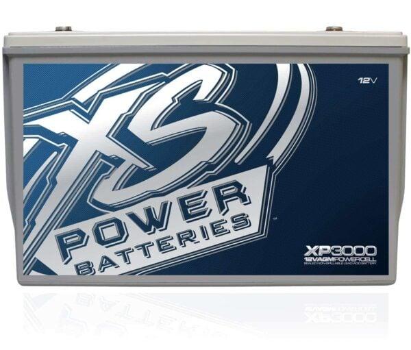 XP3000 XS Power 12VDC AGM Car Audio Battery 3000A 120Ah front 600x511 - XP3000 XS Power 12VDC AGM Car Audio Battery 3000A 120Ah Group 30H