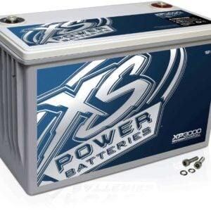 XP3000 XS Power 12VDC AGM Car Audio Battery 3000A 120Ah turn 300x300 - Li-D1600CK XS Power Li-D1600 16V Lithium Battery Li1625 25A 16V IntelliCHARGER combo