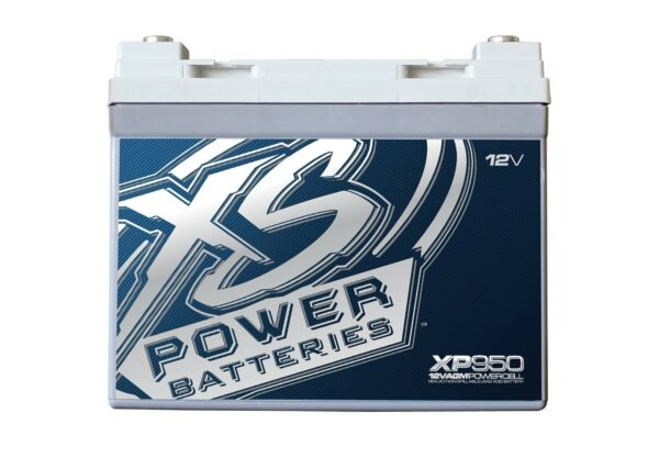 XP950 XS Power 12VDC AGM Car Audio Battery 950A 35Ah front 600x427 - XP950 XS Power 12VDC AGM Car Audio Battery 950A 35Ah Group U1