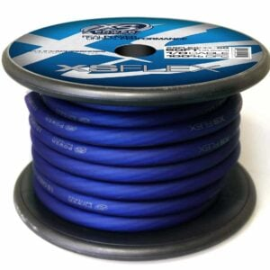 XS Power 10 AWG Gauge XS Flex 100 Oxygen Free Tinned Copper Power and Ground Cable 50ft spool XSFLEX0BL 50 Iced Blue 300x300 - XS Power 1/0 AWG Gauge XS Flex 100% Oxygen Free Tinned Copper Power and Ground Cable 50ft spool