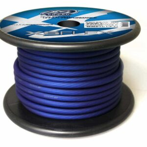 XS Power 4 AWG Gauge XS Flex 100 Oxygen Free Tinned Copper Power and Ground Cable 100ft spool XSFLEX4BL 100 Iced Blue 300x300 - XS Power 4 AWG Gauge XS Flex 100% Oxygen Free Tinned Copper Power and Ground Cable 100ft spool