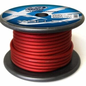 XS Power 4 AWG Gauge XS Flex 100 Oxygen Free Tinned Copper Power and Ground Cable 100ft spool XSFLEX4RD 100 Iced Red 300x300 - XS Power 4 AWG Gauge XS Flex 100% Oxygen Free Tinned Copper Power and Ground Cable 100ft spool