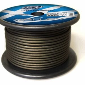 XS Power 8 AWG Gauge XS Flex 100 Oxygen Free Tinned Copper Power and Ground Cable 250ft spool XSFLEX8BK 250 Iced Black 300x300 - XS Power 8 AWG Gauge XS Flex 100% Oxygen Free Tinned Copper Power and Ground Cable 250ft spool