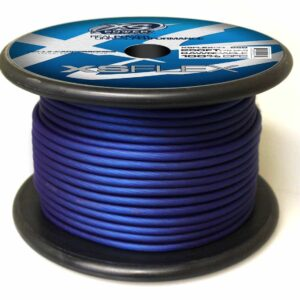 XS Power 8 AWG Gauge XS Flex 100 Oxygen Free Tinned Copper Power and Ground Cable 250ft spool XSFLEX8BL 250 Iced Blue 300x300 - XS Power 8 AWG Gauge XS Flex 100% Oxygen Free Tinned Copper Power and Ground Cable 250ft spool