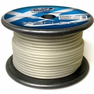 XS Power 8 AWG Gauge XS Flex 100 Oxygen Free Tinned Copper Power and Ground Cable 250ft spool XSFLEX8CL 250 Iced Clear 300x300 - XS Power 8 AWG Gauge XS Flex 100% Oxygen Free Tinned Copper Power and Ground Cable 250ft spool