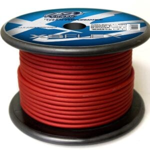 XS Power 8 AWG Gauge XS Flex 100 Oxygen Free Tinned Copper Power and Ground Cable 250ft spool XSFLEX8RD 250 Iced Red 300x300 - XS Power 8 AWG Gauge XS Flex 100% Oxygen Free Tinned Copper Power and Ground Cable 250ft spool