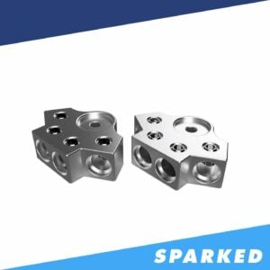 PAIR 4 Spot 1 0AWG Aluminum Terminal Blocks TB 604v2 XS Power 300x300 - PAIR 4-Spot 1/0AWG Aluminum Terminal Blocks TB-604v1 XS Power