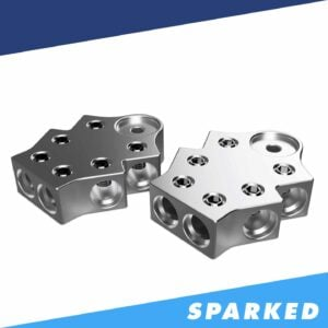 PAIR 6 Spot 1 0AWG Aluminum Terminal Blocks TB 606v2 XS Power 300x300 - PAIR 6-Spot 1/0AWG Aluminum Terminal Blocks TB-606v2 XS Power