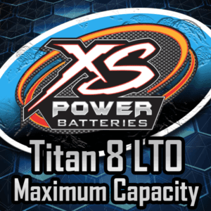 Maximum Capacity Titan 8 Lithium Batteries