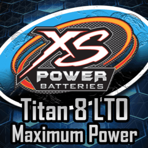 Maximum Power Titan 8 Lithium Batteries