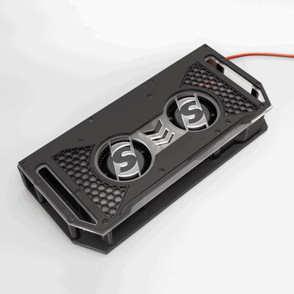 Amplifier cooling fan for car audio Fannie 600x600 - Fannie 12V Car Audio Amplifier Cooling Fan