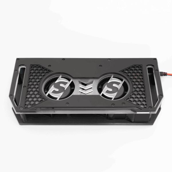 Fannie 12V Amplifier Cooling Fan Sparked Innovations 600x600 - Fannie 12V Car Audio Amplifier Cooling Fan